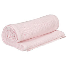 Buy John Lewis Baby Cot/Cotbed Cellular Blanket Online at johnlewis.com
