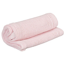 Buy John Lewis Baby Cellular Pram Blanket Online at johnlewis.com