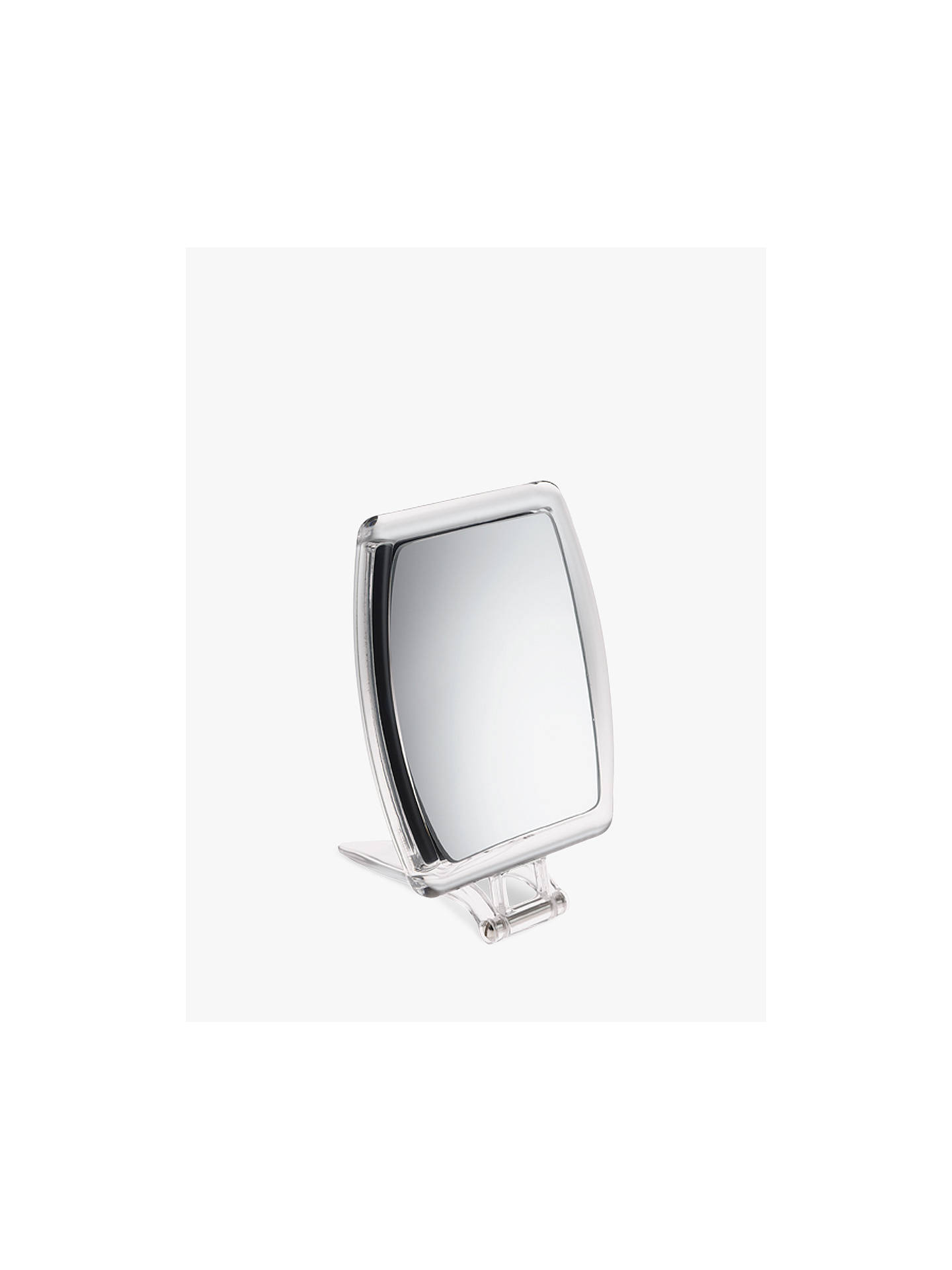 john lewis partners 10x magnification perspex mirror at. Black Bedroom Furniture Sets. Home Design Ideas