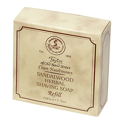 Buy Taylor of Old Bond Street Shaving Bow Refill, 100g Online at johnlewis.com