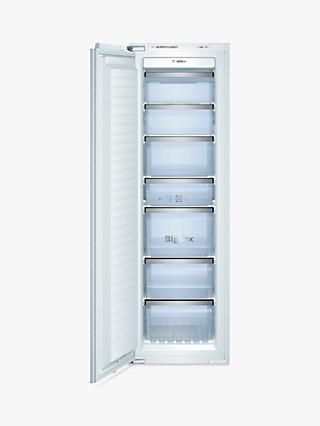 Bosch GIN38A55GB Integrated Tall Freezer, A+ Energy Rating, 56cm Wide
