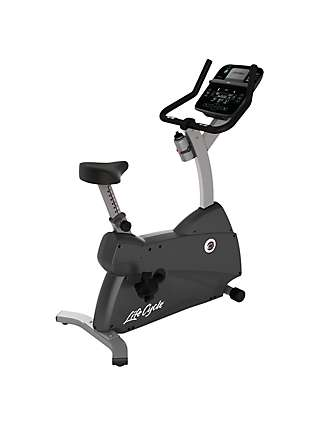 Life Fitness Lifecycle C1 Upright Exercise Bike with Track Connect Console