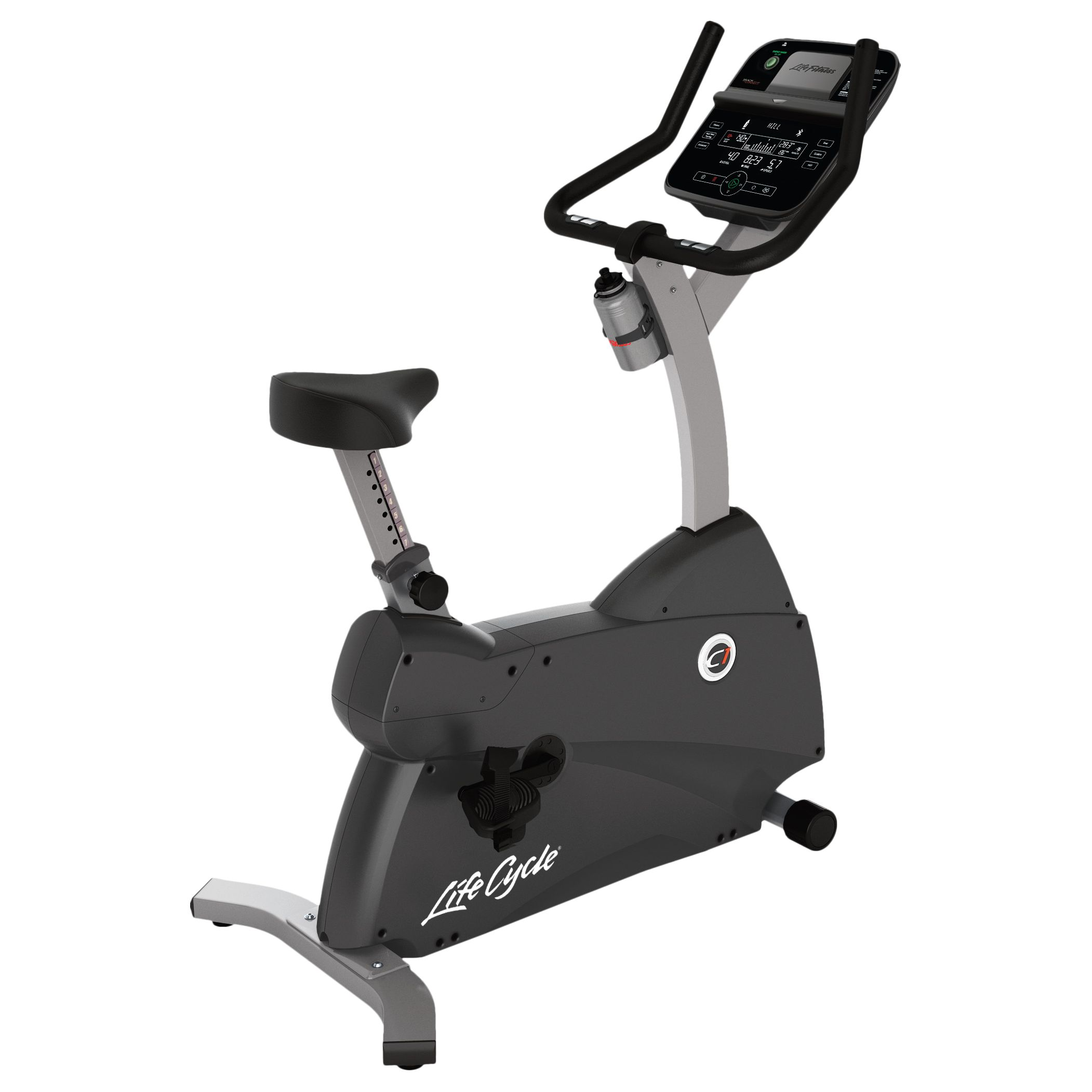 Life Fitness Life Fitness Lifecycle C1 Upright Exercise Bike with Track Connect Console