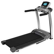 Buy Life Fitness F3 Folding Treadmill, Go Console Online at johnlewis.com
