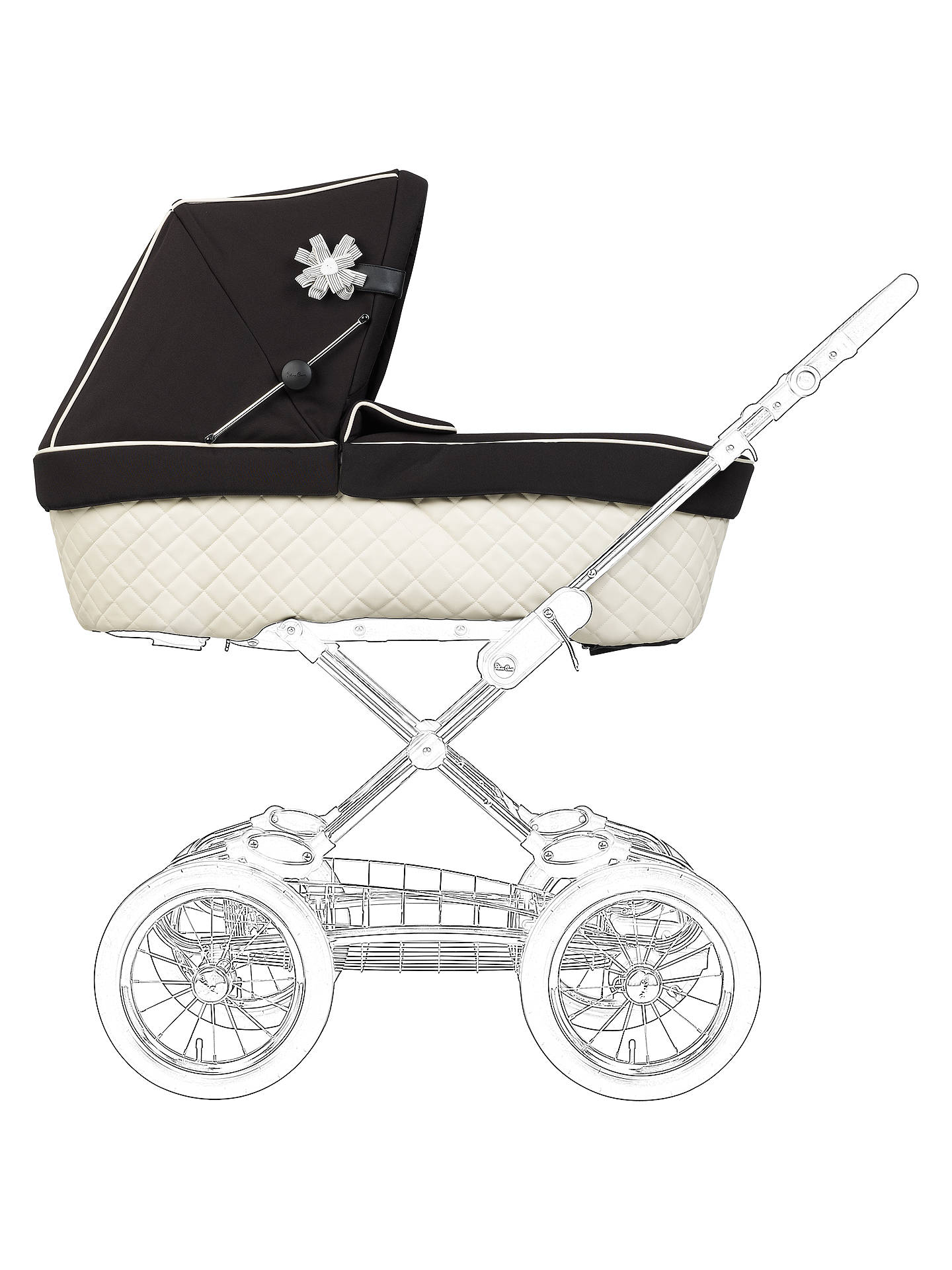 Silver Cross SLEEPOVER Sleep Over MADE IN UK PRAM SAFETY BREATHABLE MATTRESS