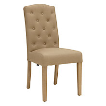 Buy Neptune Sheldrake Upholstered Dining Chair, Mocha Linen Online at johnlewis.com