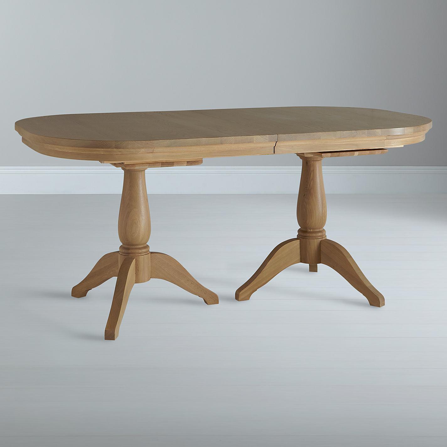 ... Buy Neptune Henley Oval 170-270cm Extending Oak Dining Table, Oak  Online at johnlewis ...