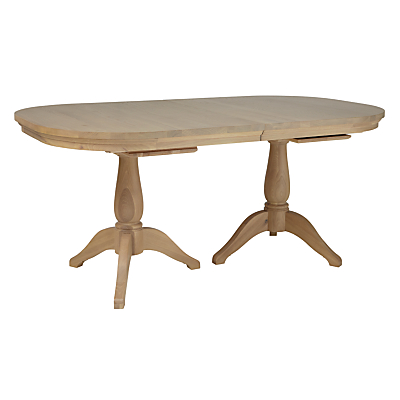 Neptune Henley Oval 170-270cm Extending Oak Dining Table, Oak
