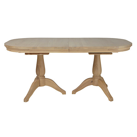 Buy Neptune Henley Oval 170-270cm Extending Oak Dining Table, Oak Online at johnlewis.com
