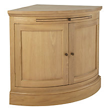 Buy Neptune Henley Curved Oak Sideboard, Oak Online at johnlewis.com