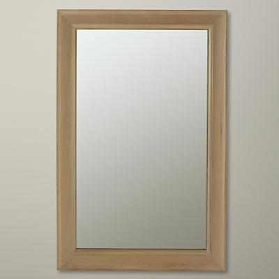 Neptune Henley Oak Mirror, H154 x W100cm