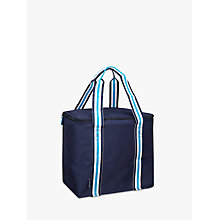 Buy John Lewis The Basics Picnic Cooler Bag, Navy Online at johnlewis.com