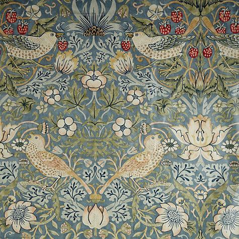 Buy Morris Amp Co Strawberry Thief Pvc Tablecloth Fabric