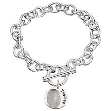Buy Under the Rose Personalised Women's Fingerprint Charm Bracelet, 1 Charm Online at johnlewis.com