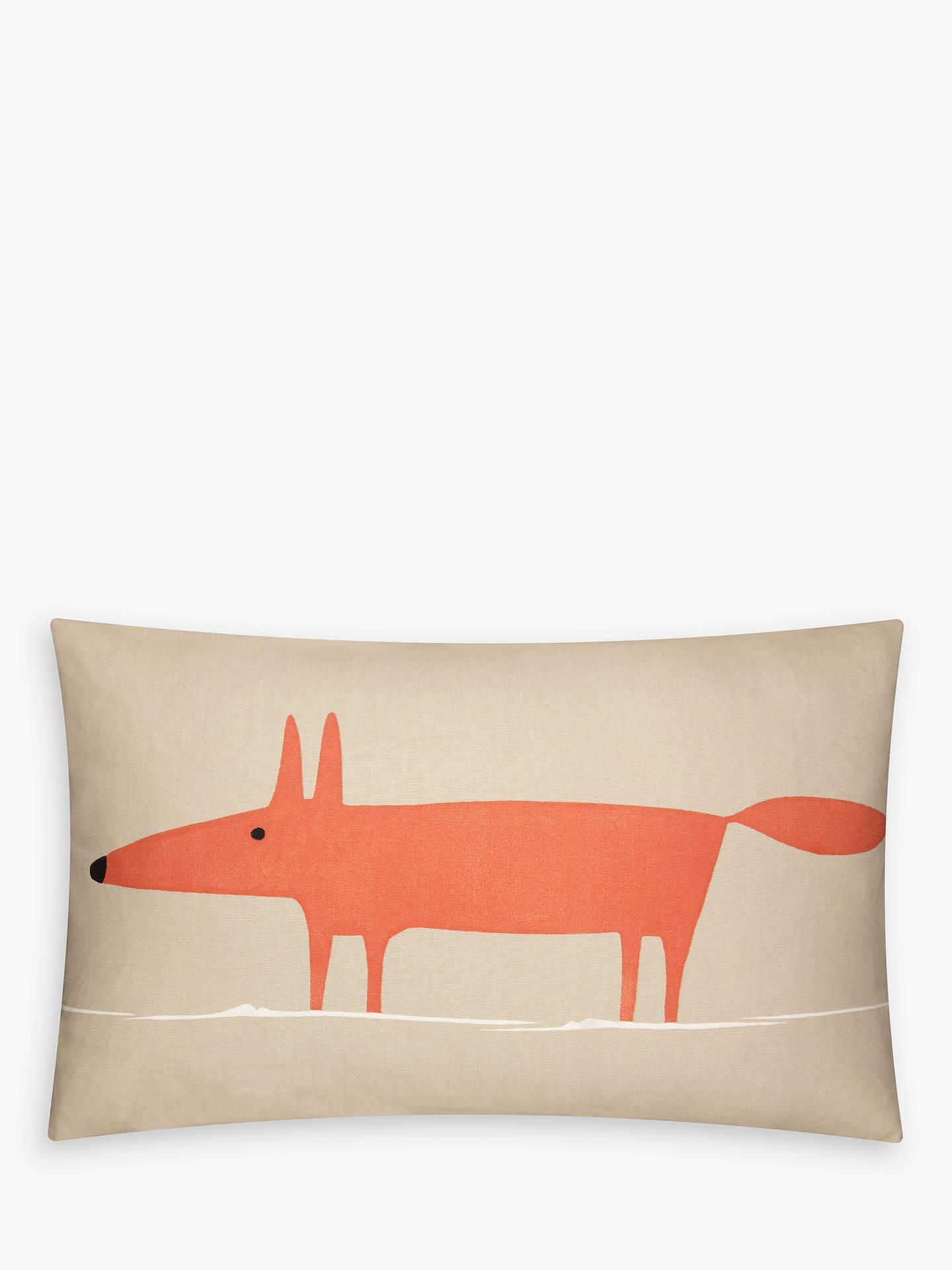 e6a04506 Buy Scion Mr Fox Cushion, Orange / Beige Online at johnlewis.com ...