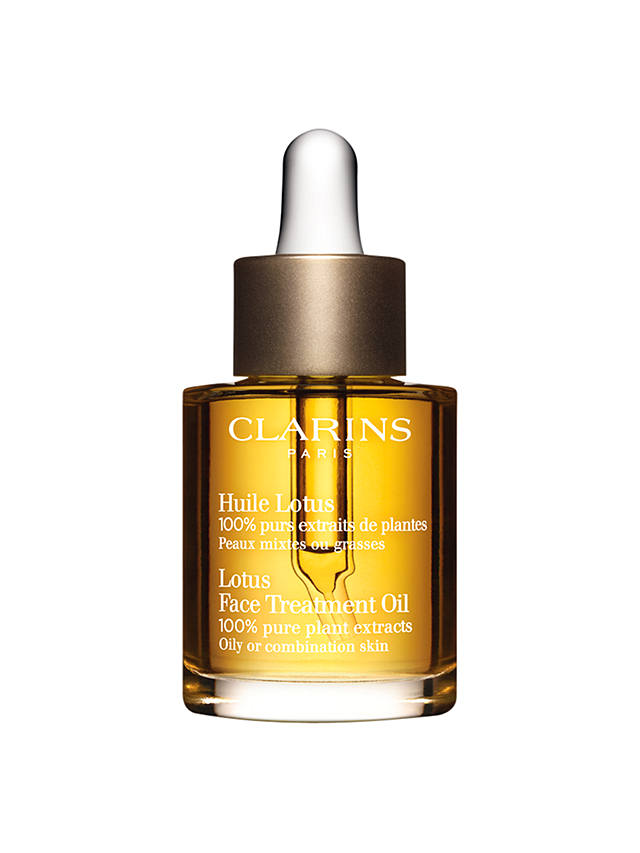 Buy Clarins Face Treatment Oil - Lotus, 30ml Online at johnlewis.com