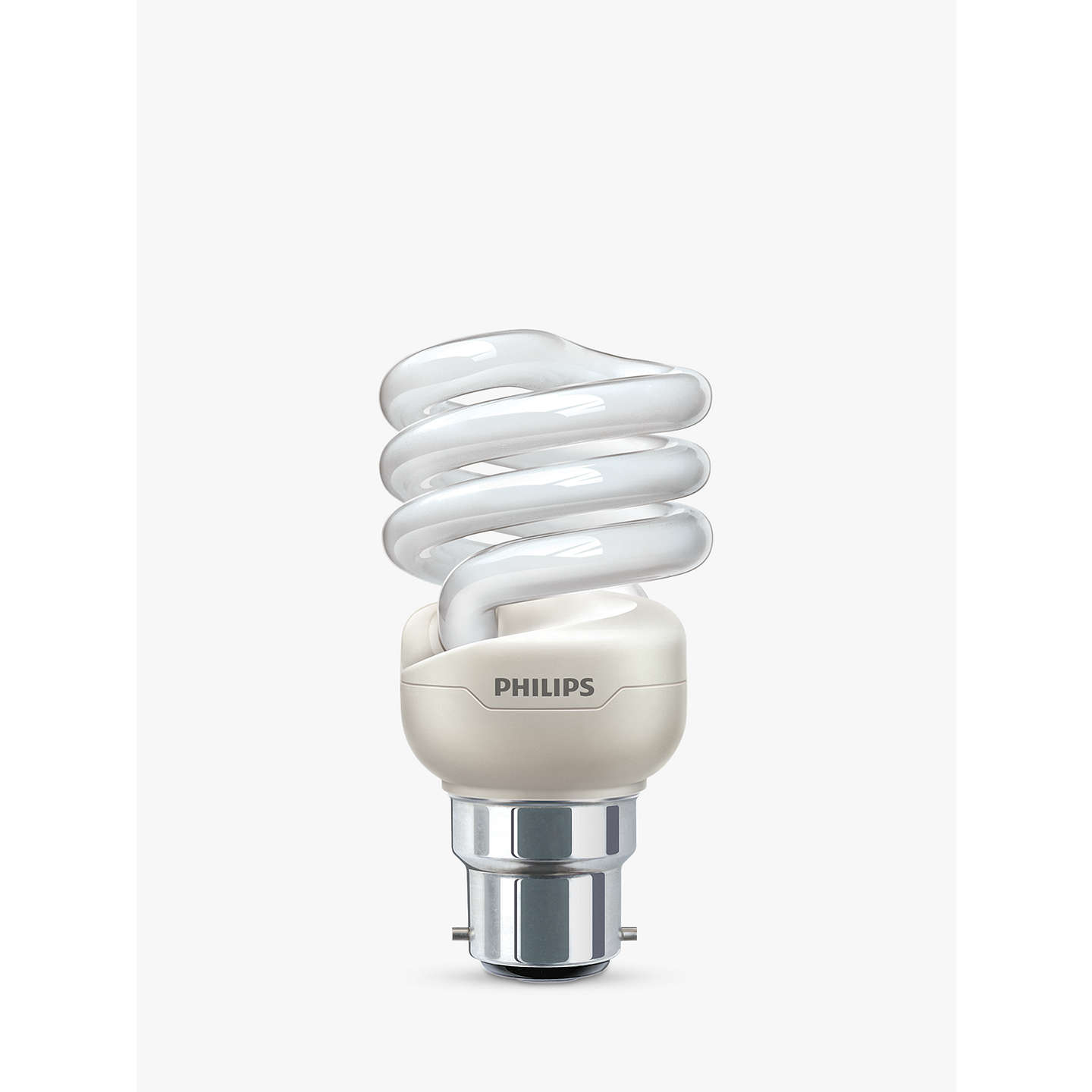 BuyPhilips 20W CFL Energy Saving Spiral Bulb, Opal Online at johnlewis.com