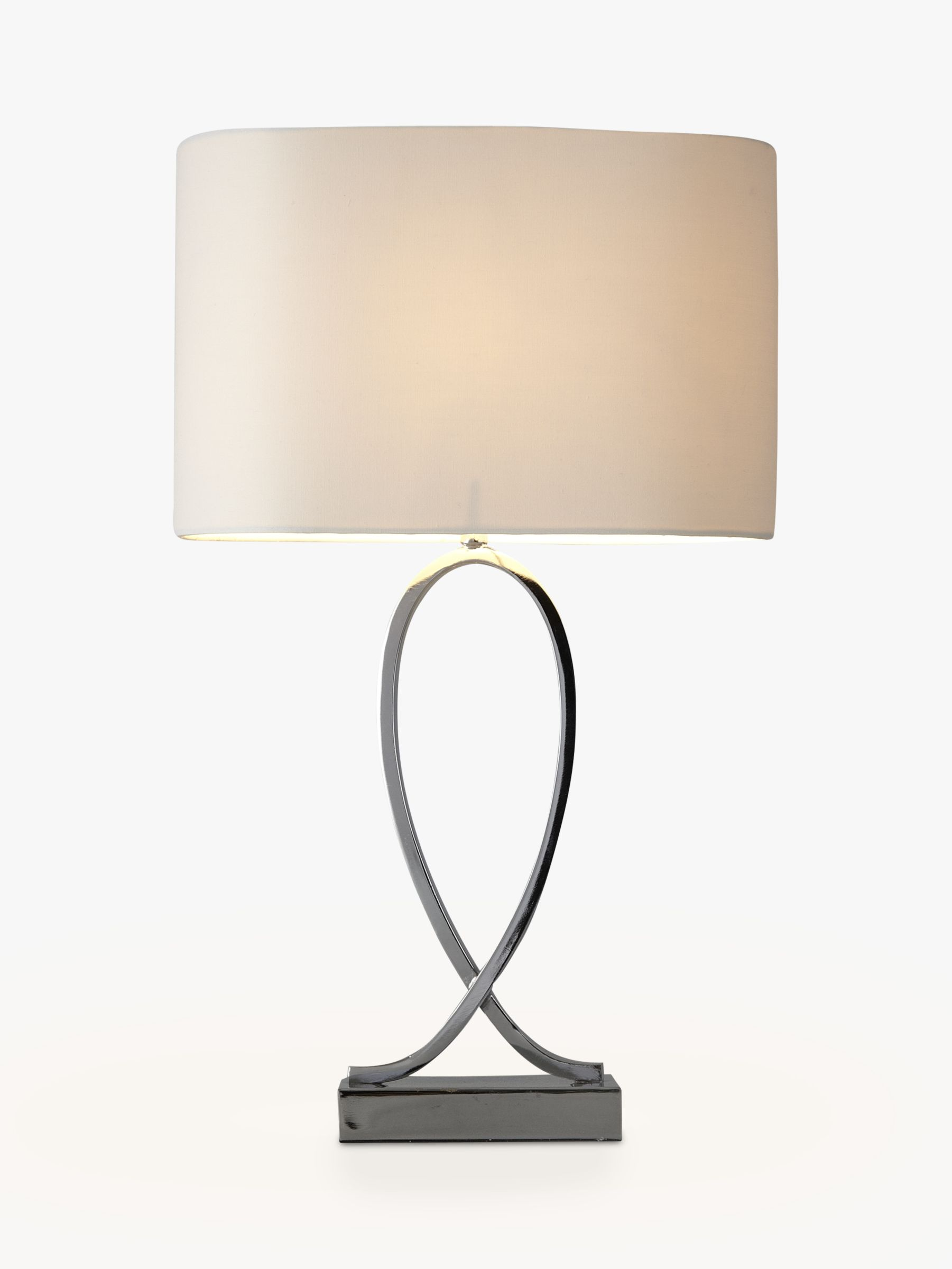 John Lewis Partners New Tom Table Touch Lamp Chrome At John Lewis Partners
