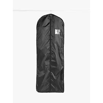 John Lewis & Partners Extra Long Clothes Cover, Black