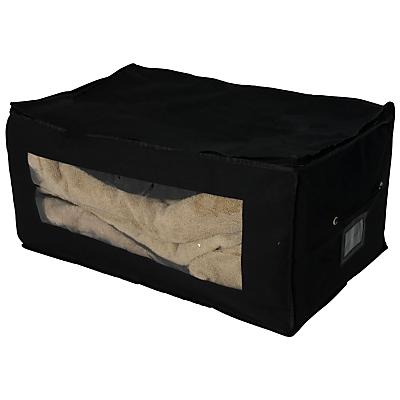 John Lewis & Partners Jumbo Bag, Black