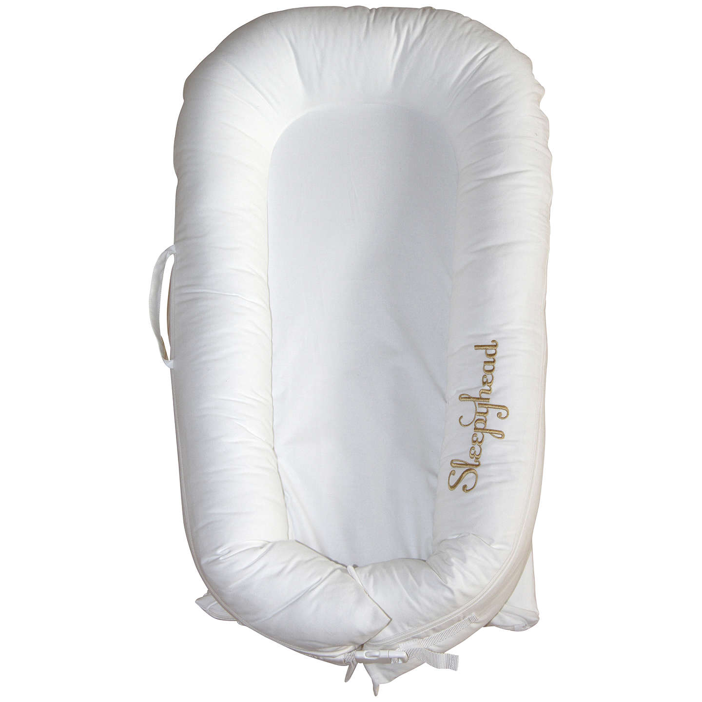 BuySleepyhead Deluxe Portable Baby Pod, White Online at johnlewis.com