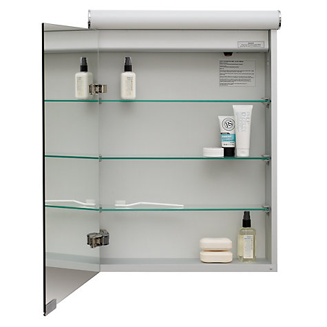 ... Buy Roper Rhodes Elevate Illuminated Single Bathroom Cabinet With  Double Sided Mirror Online At Johnlewis ...
