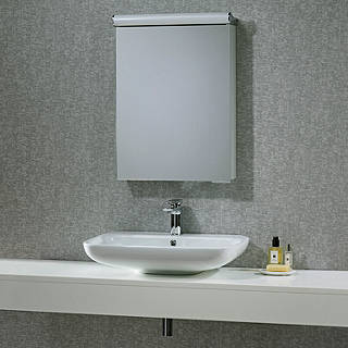 Merveilleux Roper Rhodes Elevate Illuminated Single Bathroom Cabinet With Double Sided  Mirror