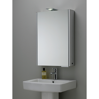 Roper Rhodes Fever Illuminated Single Bathroom Cabinet with Double-Sided Mirror
