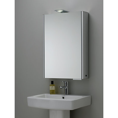 buy roper rhodes fever illuminated single bathroom cabinet with double sided mirror online at johnlewis
