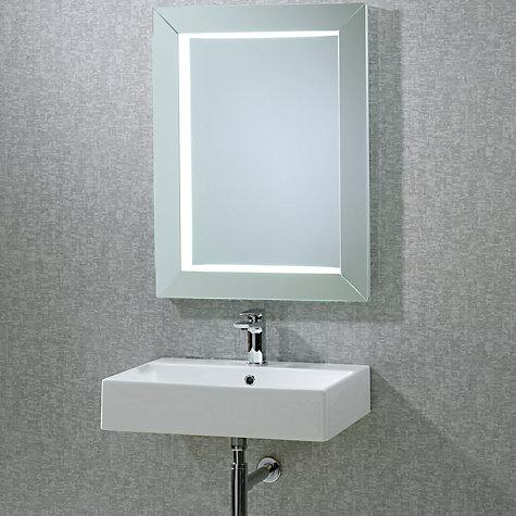 Buy roper rhodes sense frame illuminated bathroom mirror john lewis - Consider buying bathroom mirror ...