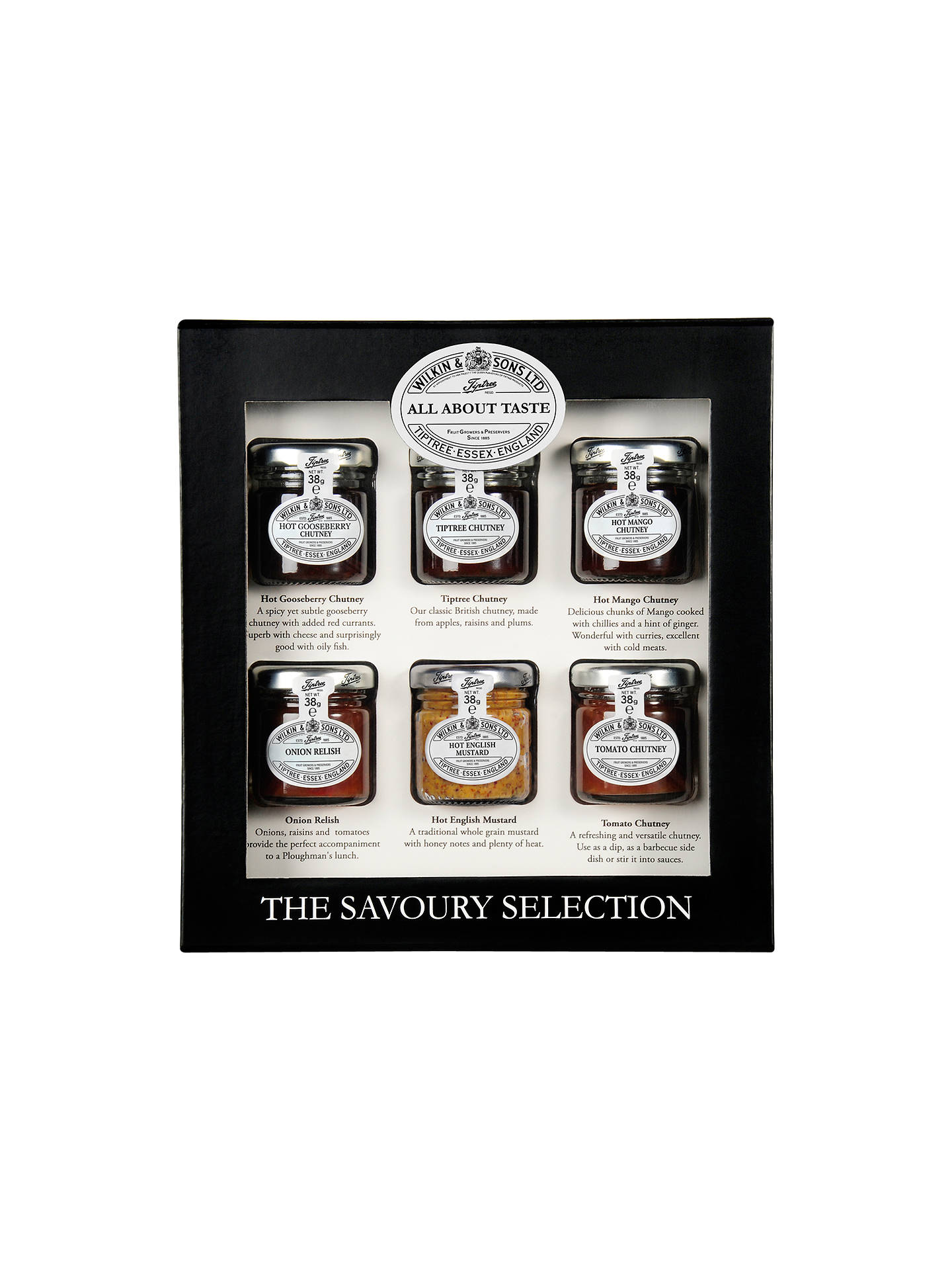 BuyWilkin & Sons Tiptree The Savoury Selection, 6 x 38g Online at johnlewis.com