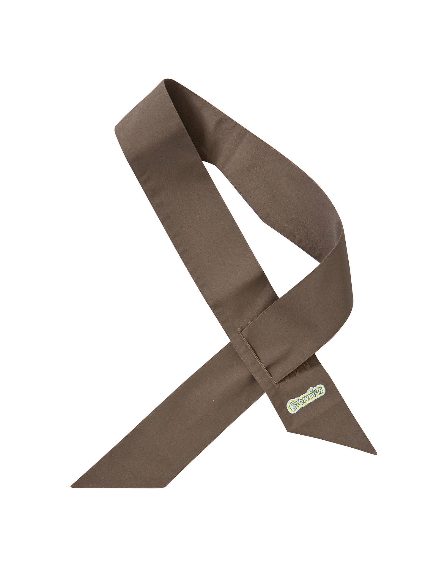 BuyBrownies Uniform Sash, Brown Online at johnlewis.com