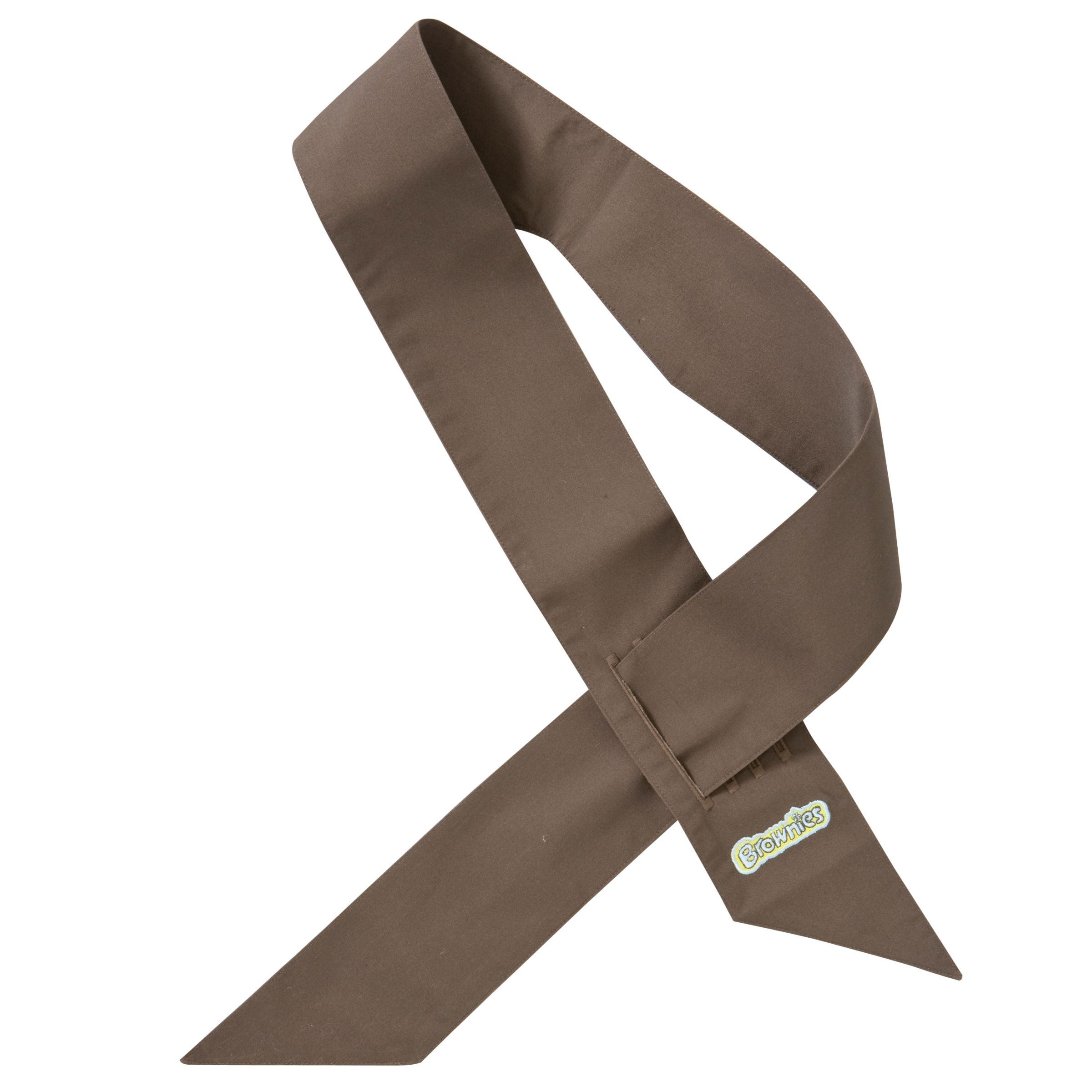 Brownies Brownies Uniform Sash, Brown