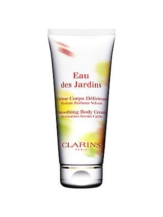Clarins Eau des Jardins Smoothing Body Cream, 200ml