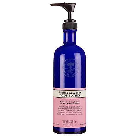 Buy Neal's Yard Remedies New English Lavender Body Lotion, 200ml Online at johnlewis.com