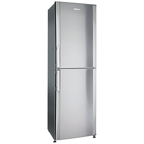 Buy Beko FF6091X Fridge Freezer, Stainless Steel Online at johnlewis.com
