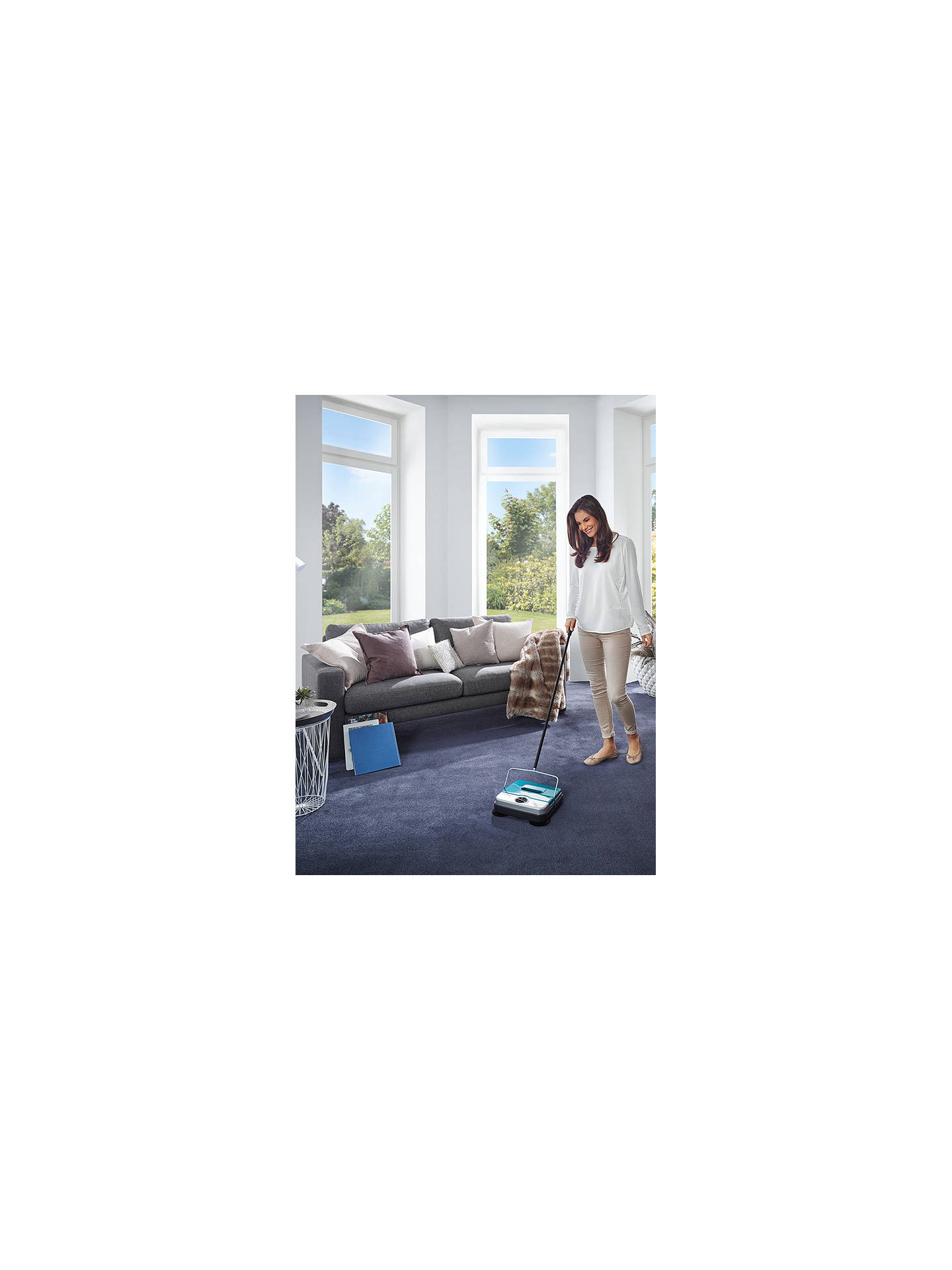 BuyLeifheit Rotaro S Floor Sweeper Online at johnlewis.com
