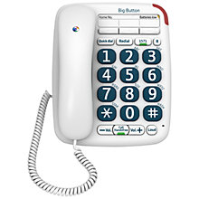 Buy BT Big Button 200 Corded Telephone, White Online at johnlewis.com