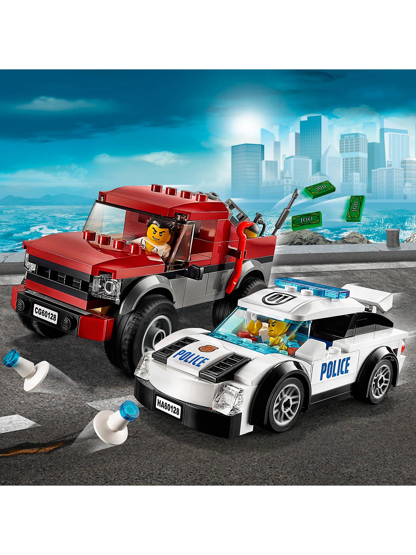 LEGO City 60128 Police Pursuit at John Lewis & Partners