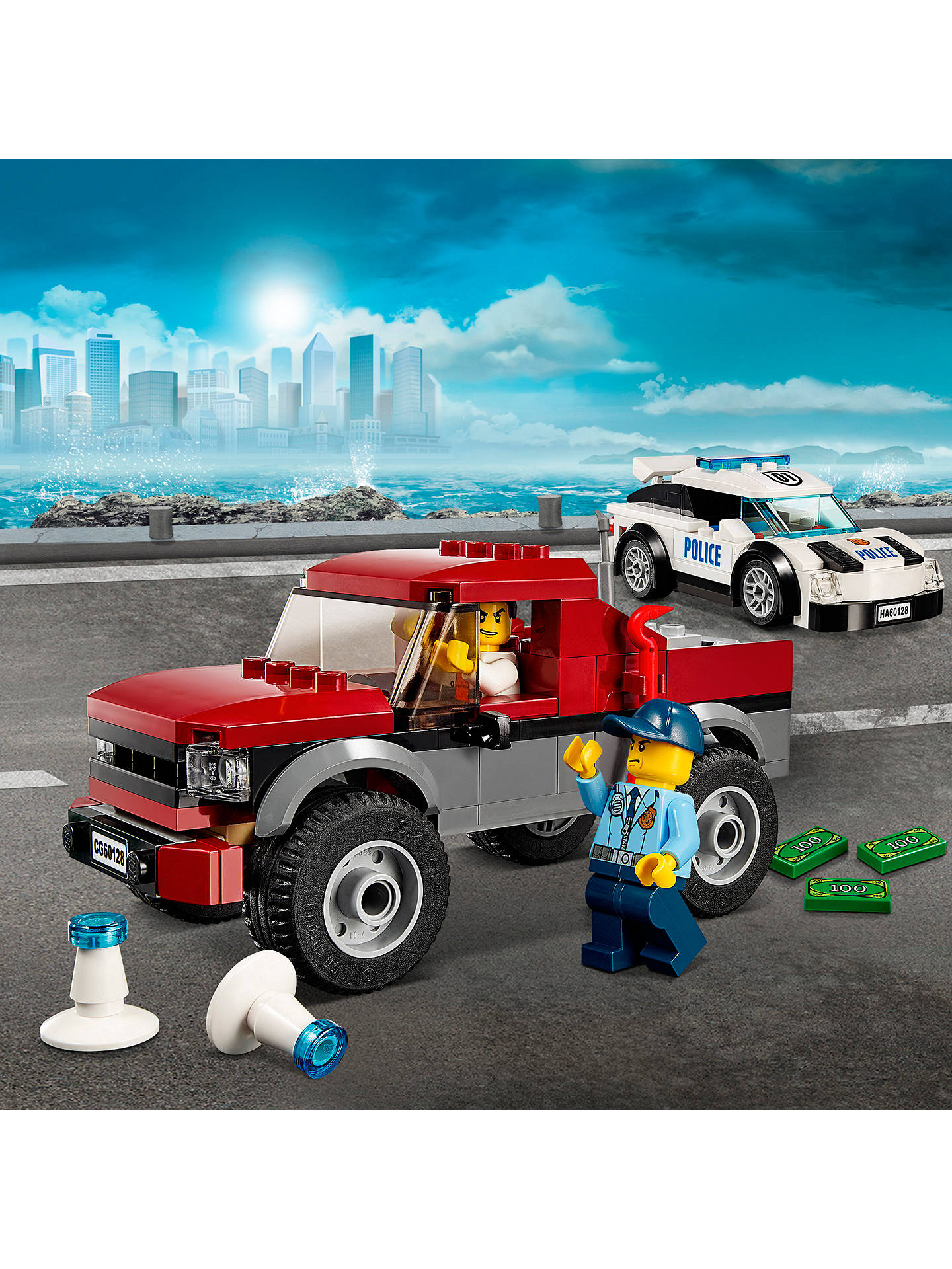 Lego City 60128 Police Pursuit At John Lewis Partners
