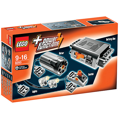 Buy LEGO Power Functions 8293 Motor Set Online at johnlewis.com