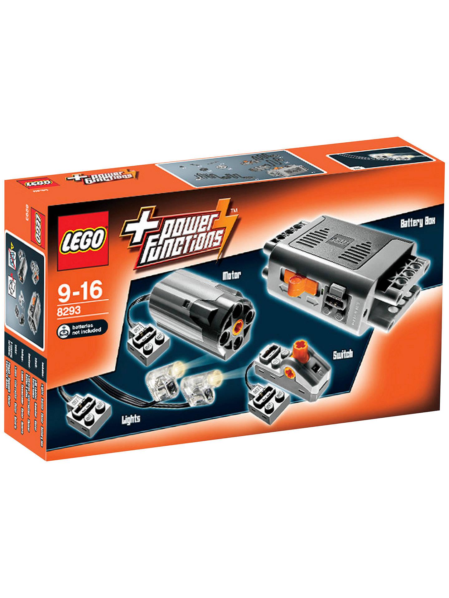 Lego Functions 8293 Motor Set Online At Johnlewis