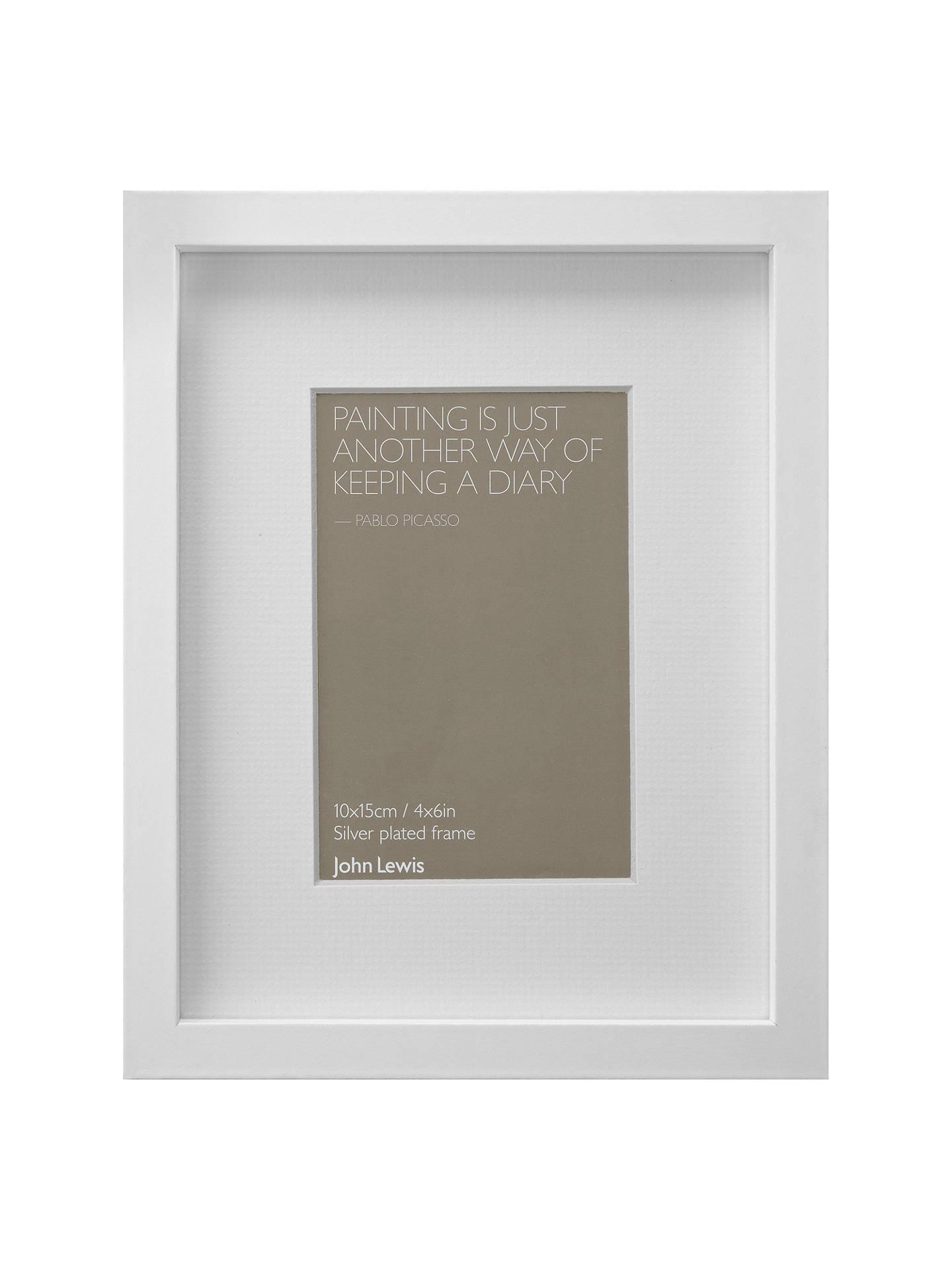John Lewis Box Frame & Mount FSC-certified, 4 x 6\