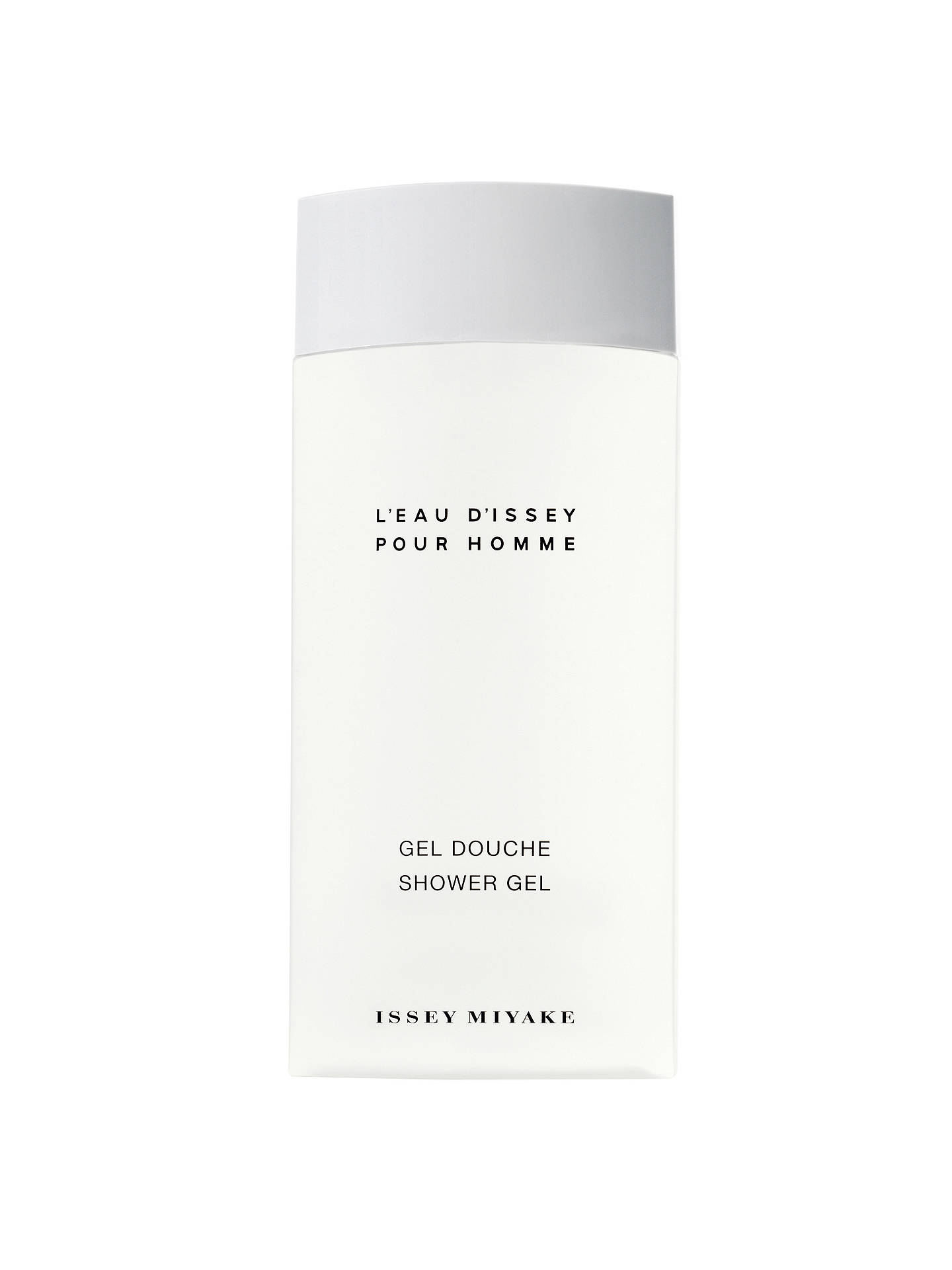 issey miyake l 39 eau d 39 issey pour homme shower gel 200ml at john lewis partners