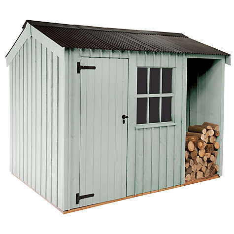 Buy National Trust by Crane Blickling Garden Shed, 1.8 x 3.6m Online at johnlewis.com