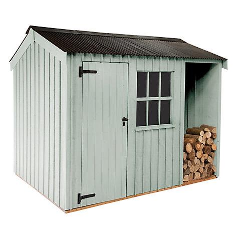 Garden Sheds John Lewis buy national trustcrane blickling garden shed, 2.4 x 3m | john