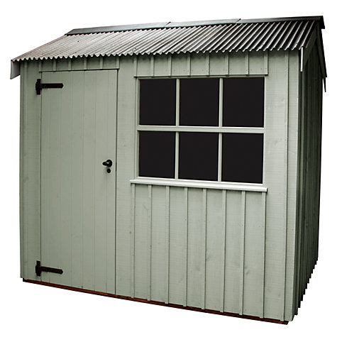 Buy National Trust by Crane Felbrigg Garden Shed, 2.4 x 3m Online at johnlewis.com
