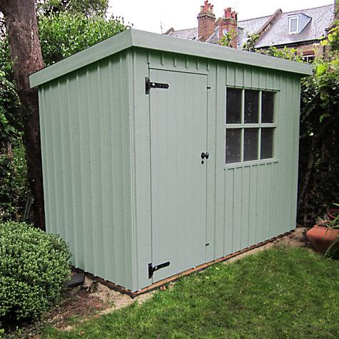 buy national trust by crane oxburgh garden shed 18 x 24m online at johnlewis - Garden Sheds John Lewis