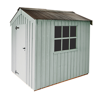 National Trust by Crane Peckover Garden Shed 2.4 x 3m