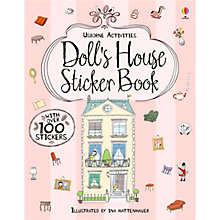 Buy Usborne Activities: Doll's House Sticker Book Online at johnlewis.com